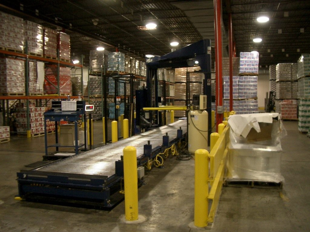 Stretch wrapper with scale can improve order picking accuracy.